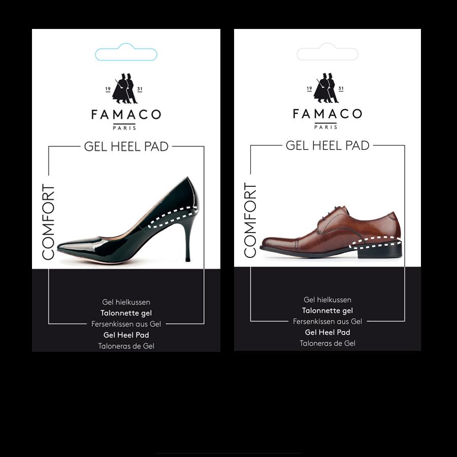 Famaco Gel heel pad