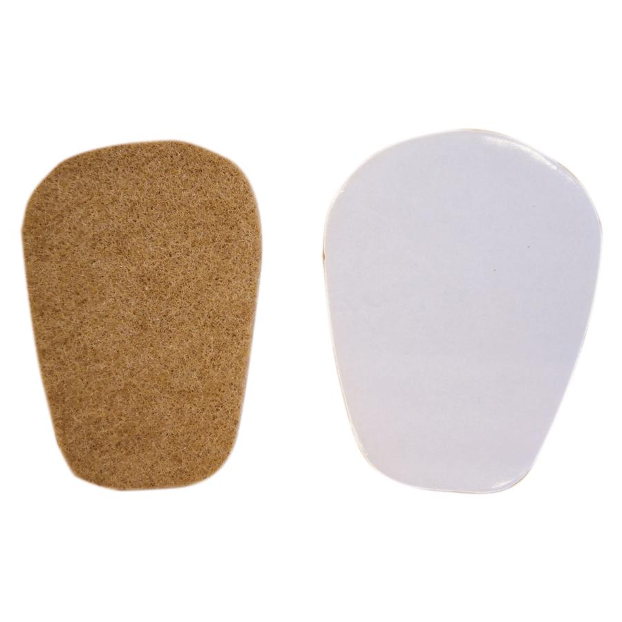 Tongpads beige 4 mm, zelfklevend