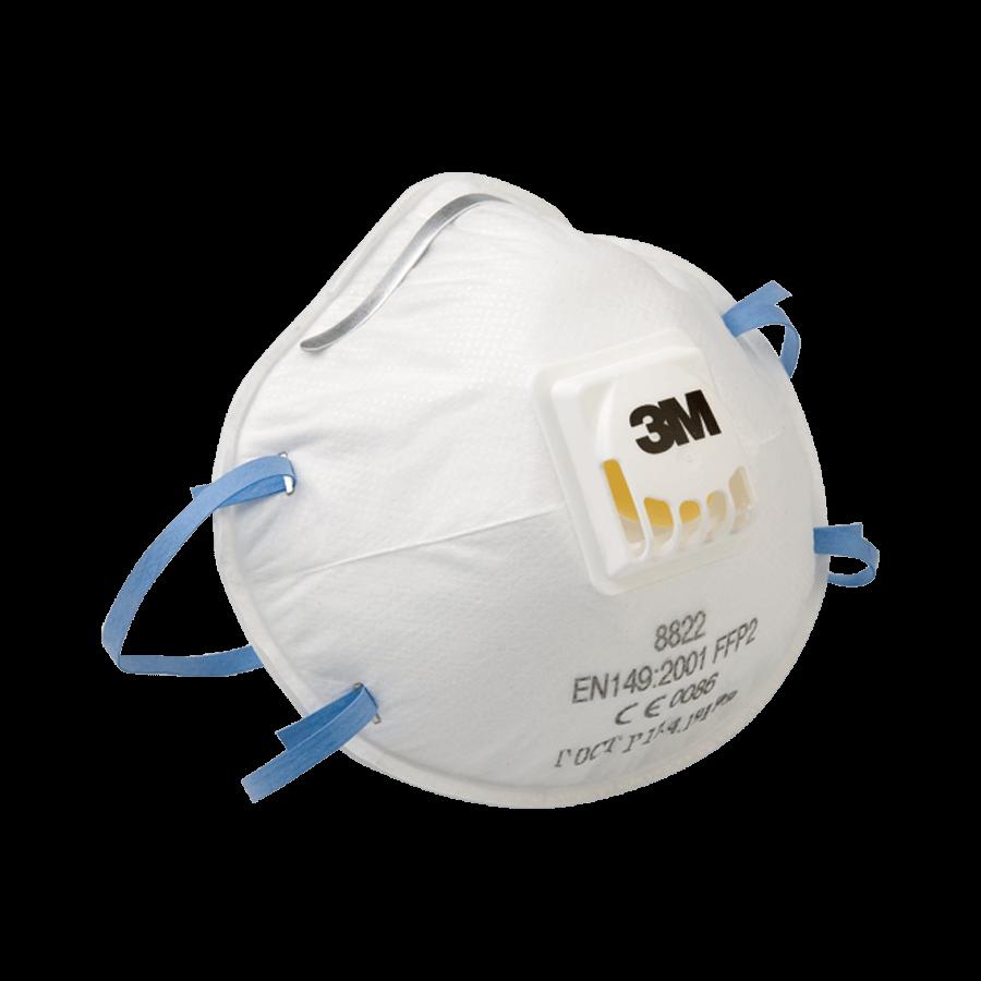 3M masker met ventiel