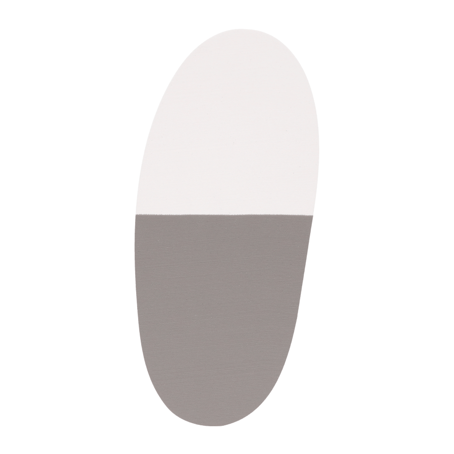 Supplement Ortho Combi grijs/wit 8 mm