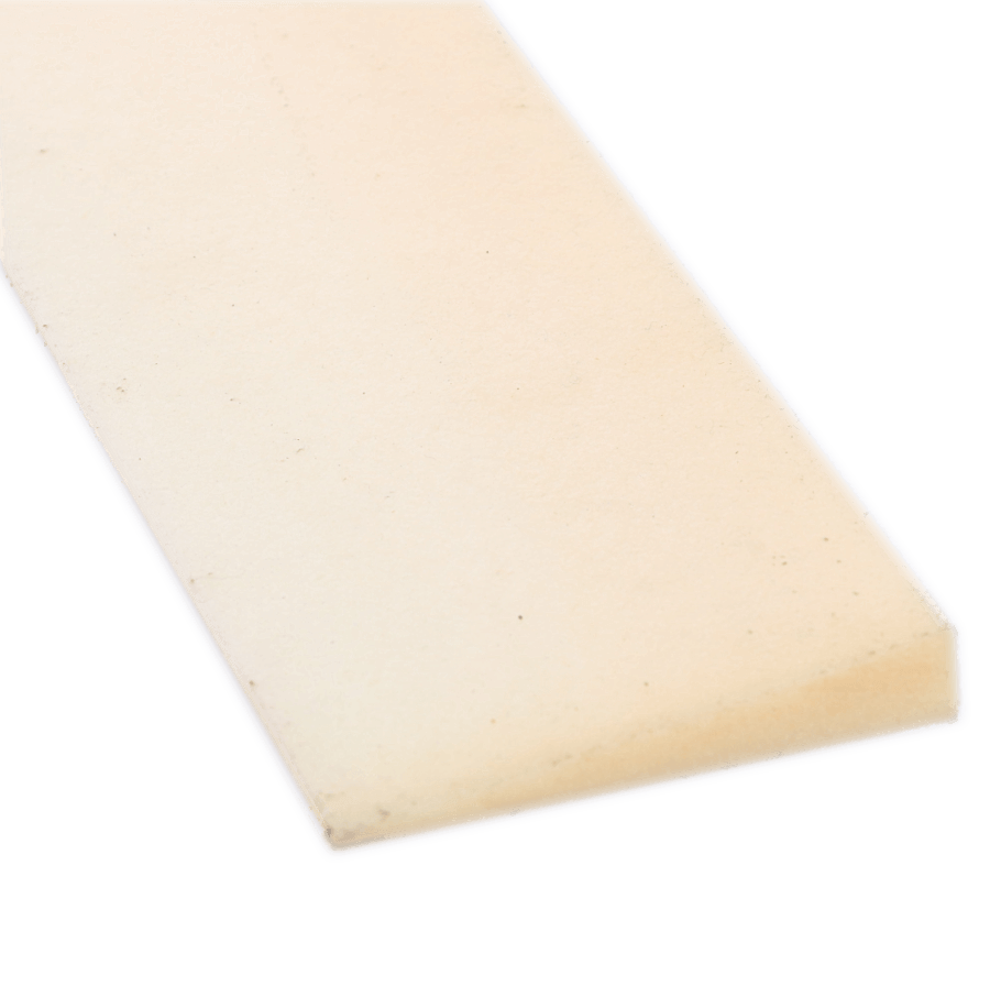 Witte crepe strook 10/60