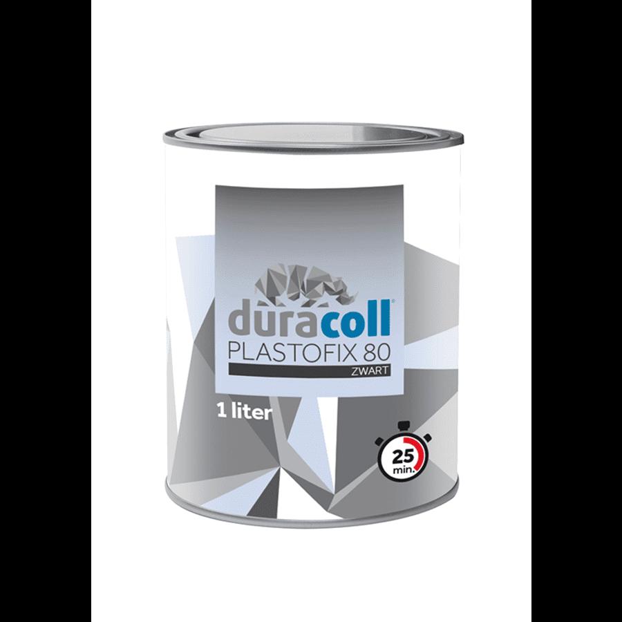 Duracoll Plastofix 80 zwart 1 liter