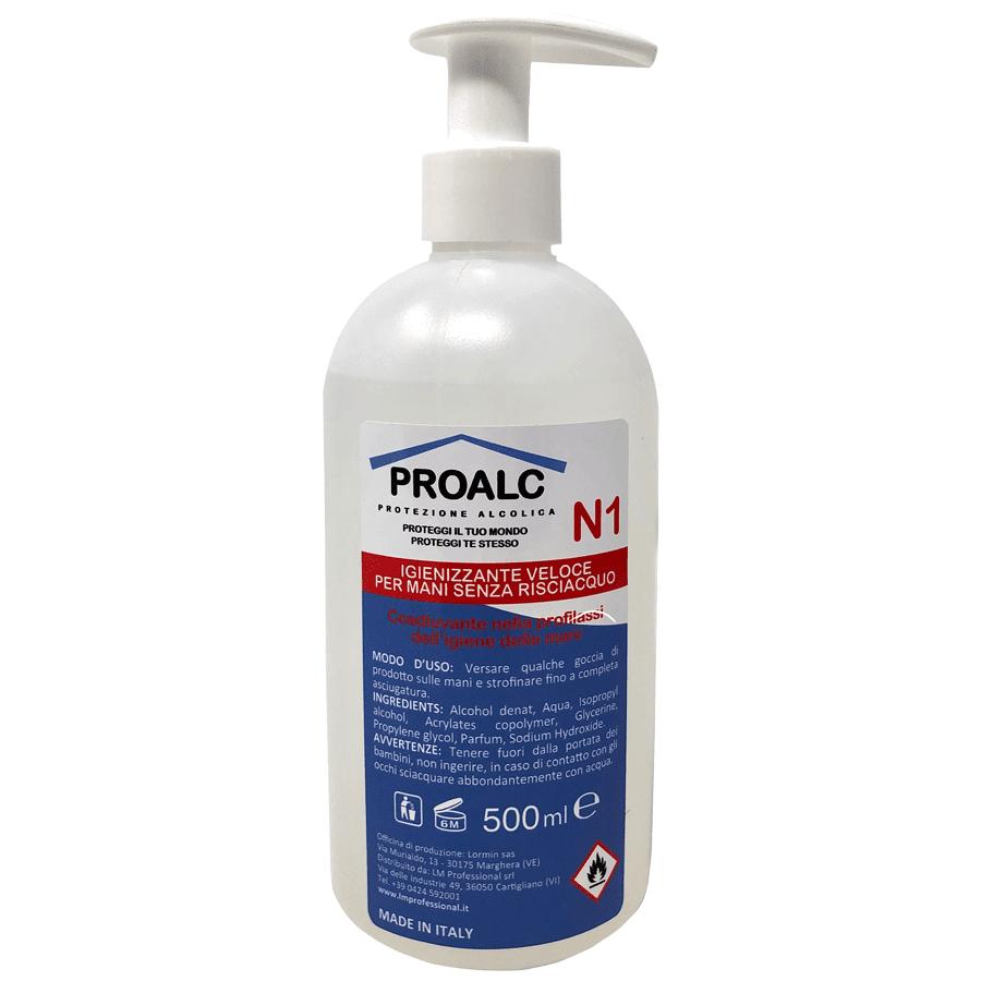 PROALC handgel met doseerpomp 500 ml