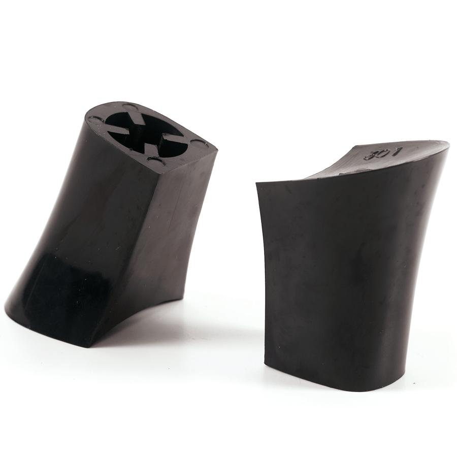 Loe, hoge dameshak zwart kunststof 65 mm