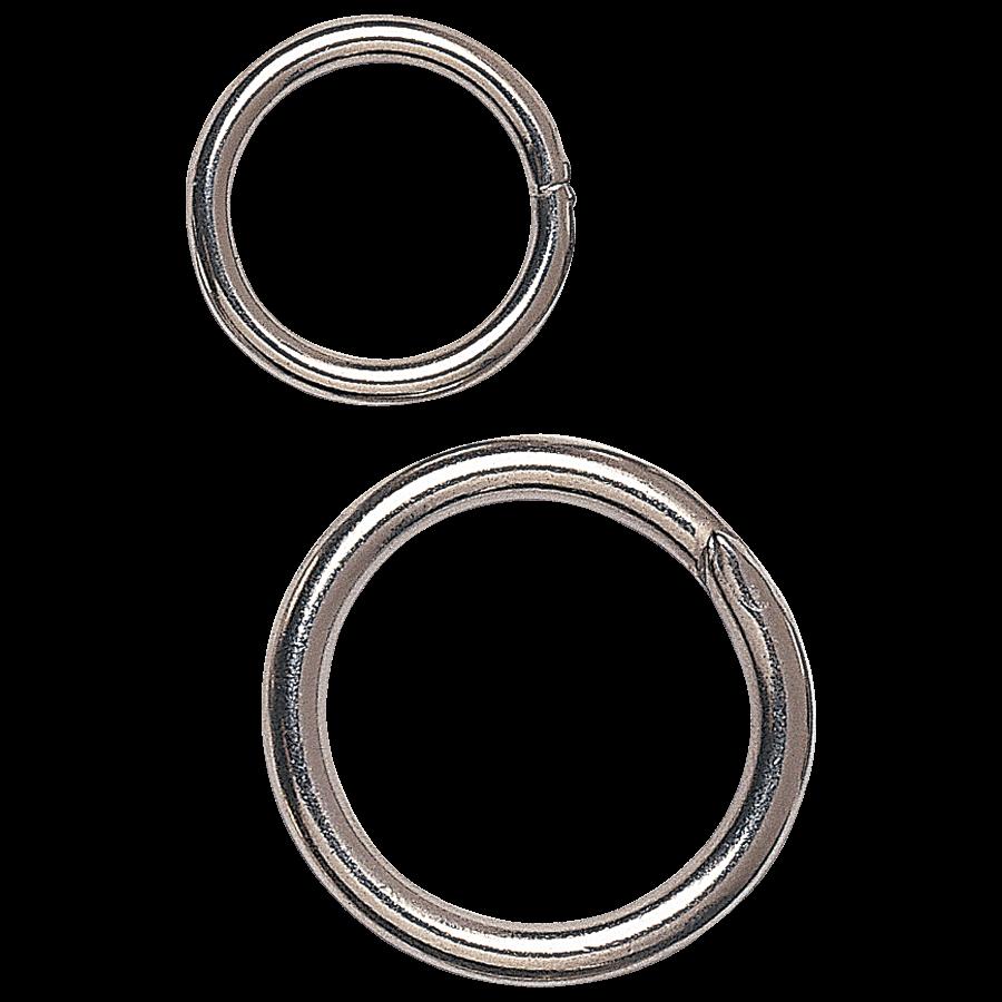Blanke ronde ring