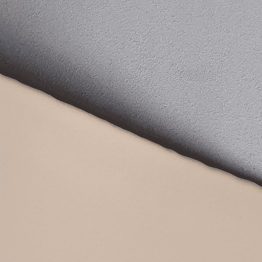 Poron polstermateriaal met bekledingsstof beige