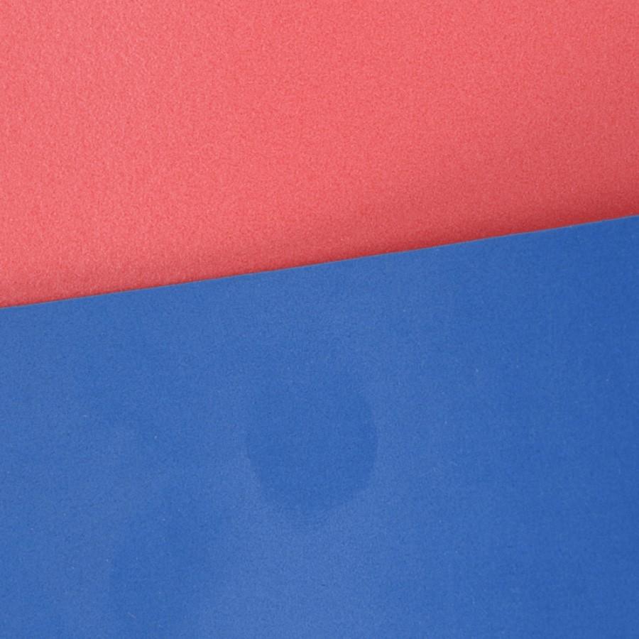 Dyafoam Poron blauw / rood 3,0 mm
