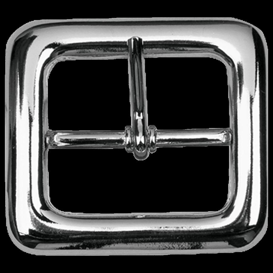 Gesp dubbel art.C2343 Nikkel 50,0 mm