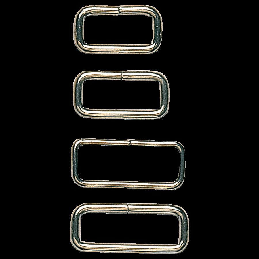 Klittenband houders metaal