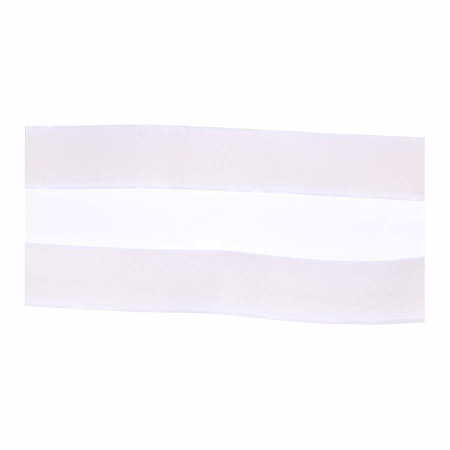 Klittenband zelfplakkend 25 mm haak en lus