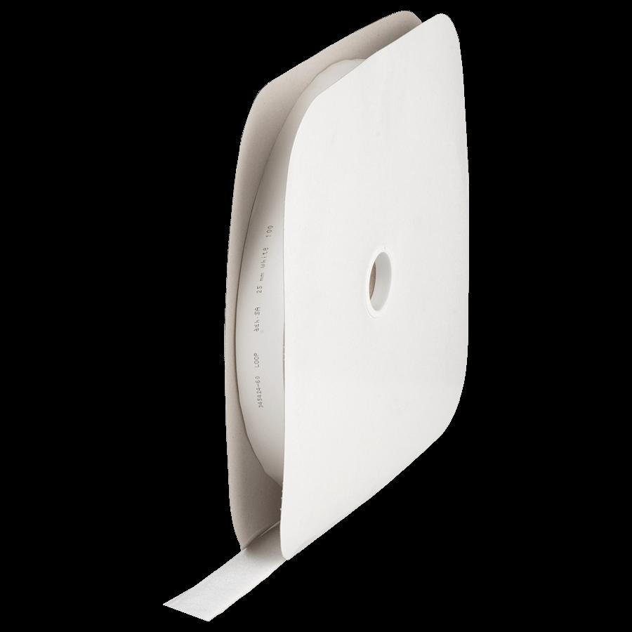 Klittenband zelfplakkend 25 mm rol à 25 meter