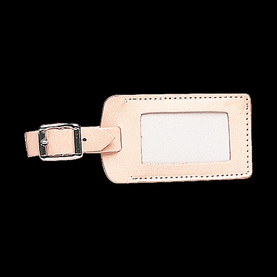 Kofferlabel zonder klep