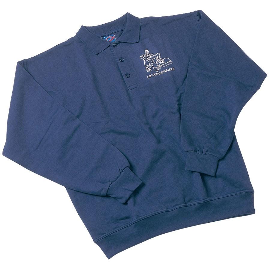 **Poloshirt lange mouw